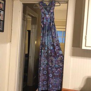 Live and Let Live Women's Embellished Maxi Dress